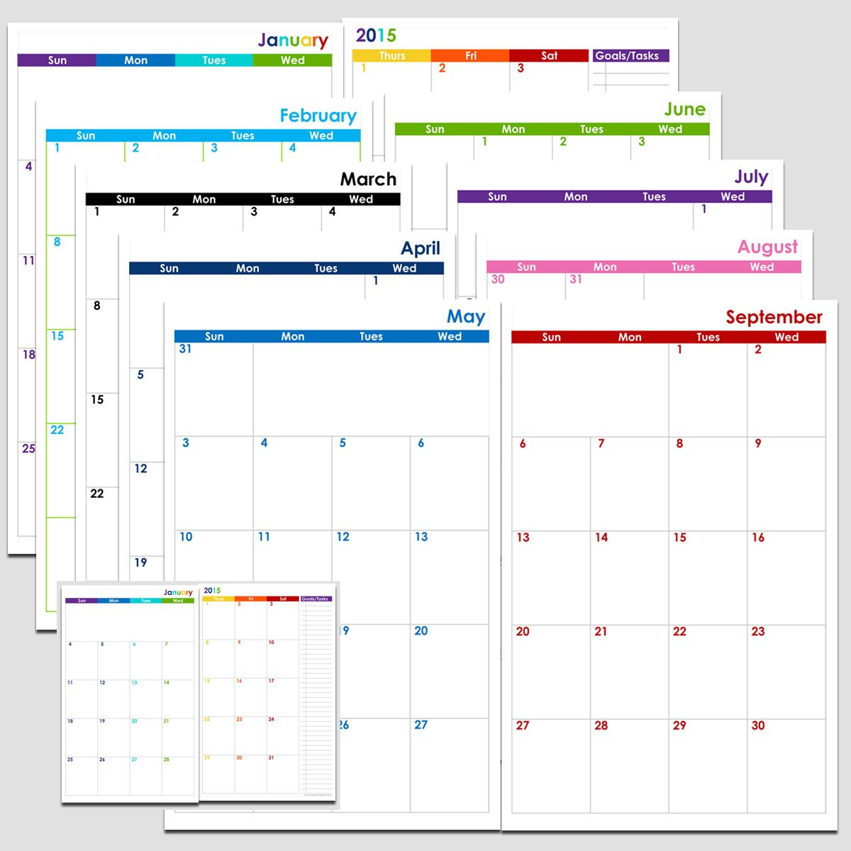 Free Yearly 5.5 X 8.5 Calendar 2020 | Calendar Template Libreoffice 5.5 X 8.5 Calendar