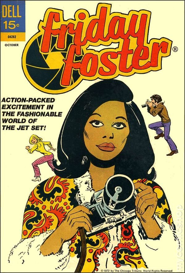 Friday Foster (1972) Comic Books To Do List Mon To Friday 15-19 June
