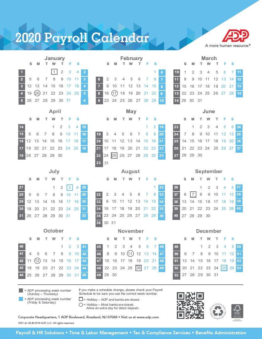 Fsc Payroll Calendar For 2021 | Payroll Calendar 2021 Sap 52 Week Numbered Calendar