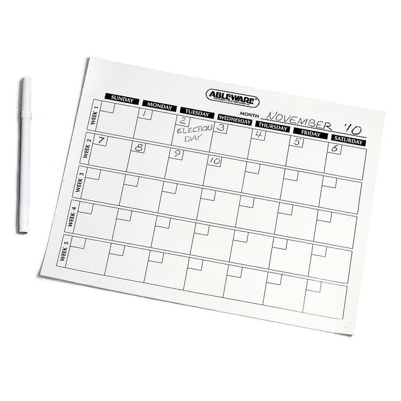 Generic 4 Week Calendar | Calendar Printables Free Templates Free 4 Week Calendar Templates