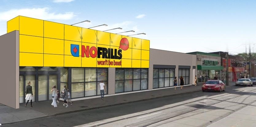 Gerrard Coxwell No Frills Remains Shuttered Year After The No Frills Calendar