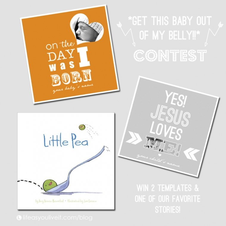 Get This Baby Out Of My Belly * Contest » Lifeasyouliveit Guess The Baby Weight And Date Template