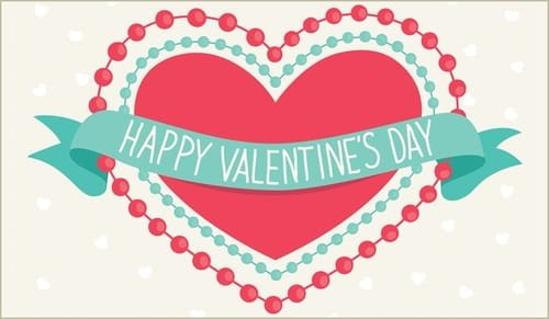 Happy Valentine'S Day Ecard - Free Valentine'S Day Cards Cross Cards Lune Calebders