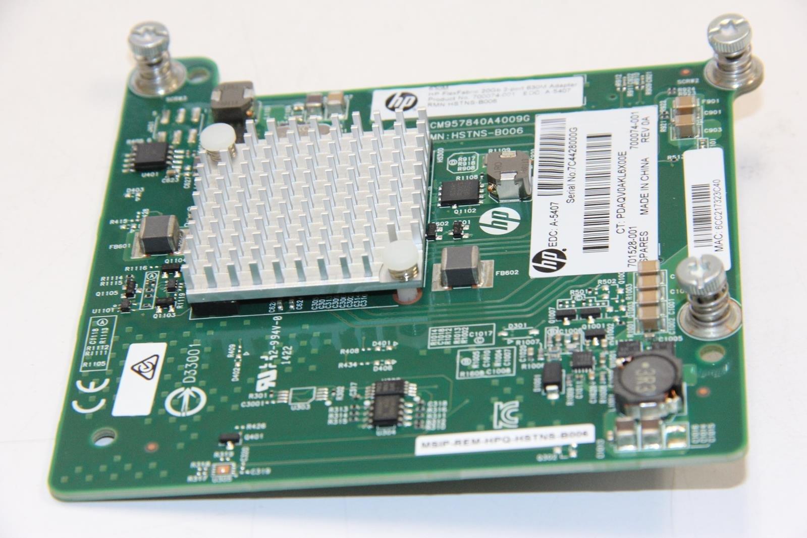 Hewlett Packard 700074-001 701528-001 Flexfabric 20Gb Dual Hewlett Packard Templates For Calendars