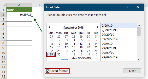 How To Create A Drop Down List Calendar (Date Picker) In Inserting A Dropdown Calendar In Excel