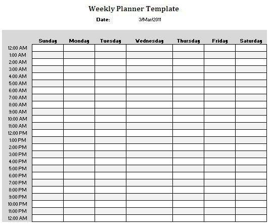 Https://S-Media-Cache-Ak0.Pinimg/736X/B9/Fe/Ef Printable Daily Calendar With Hours