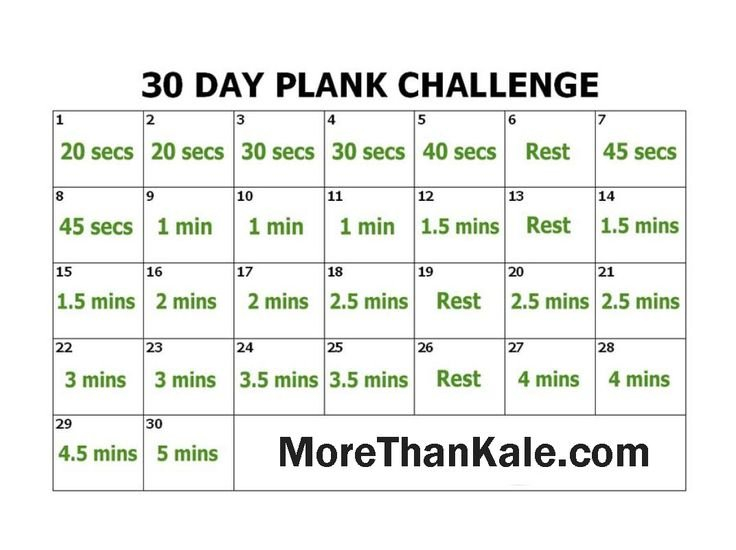 Innovative 30 Day Plank Challenge Printable Calendar 30 Day Squat Challenge Schedule Calendar