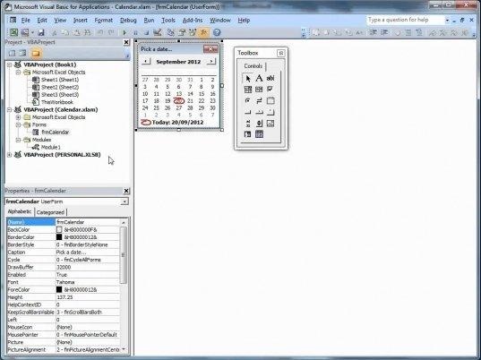 Insert Calendar Drop Down In Excel | Printable Calendar Excel Add Calendar Drop Down Into A Template
