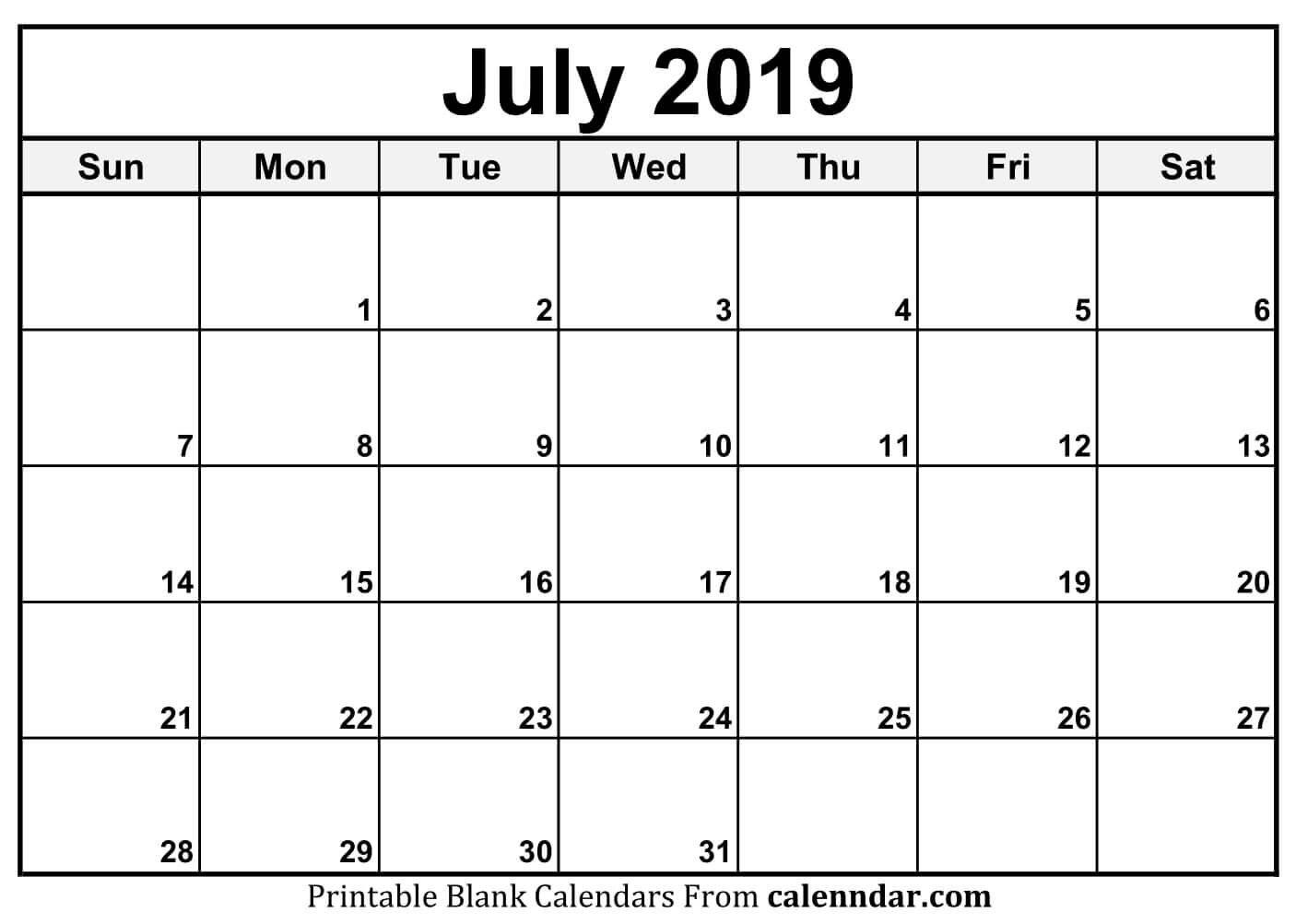January 2019 – Template Calendar Design Printable Monday Through Friday Monthly Calendar Free