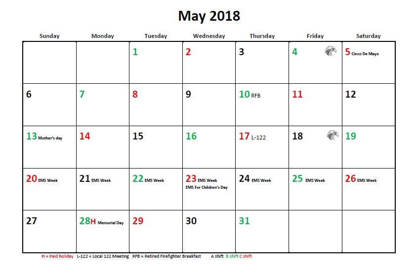 Jfrd 56 Hour Firefighter Shift Calendar 2018 Firefighter Shift Schedule Tool