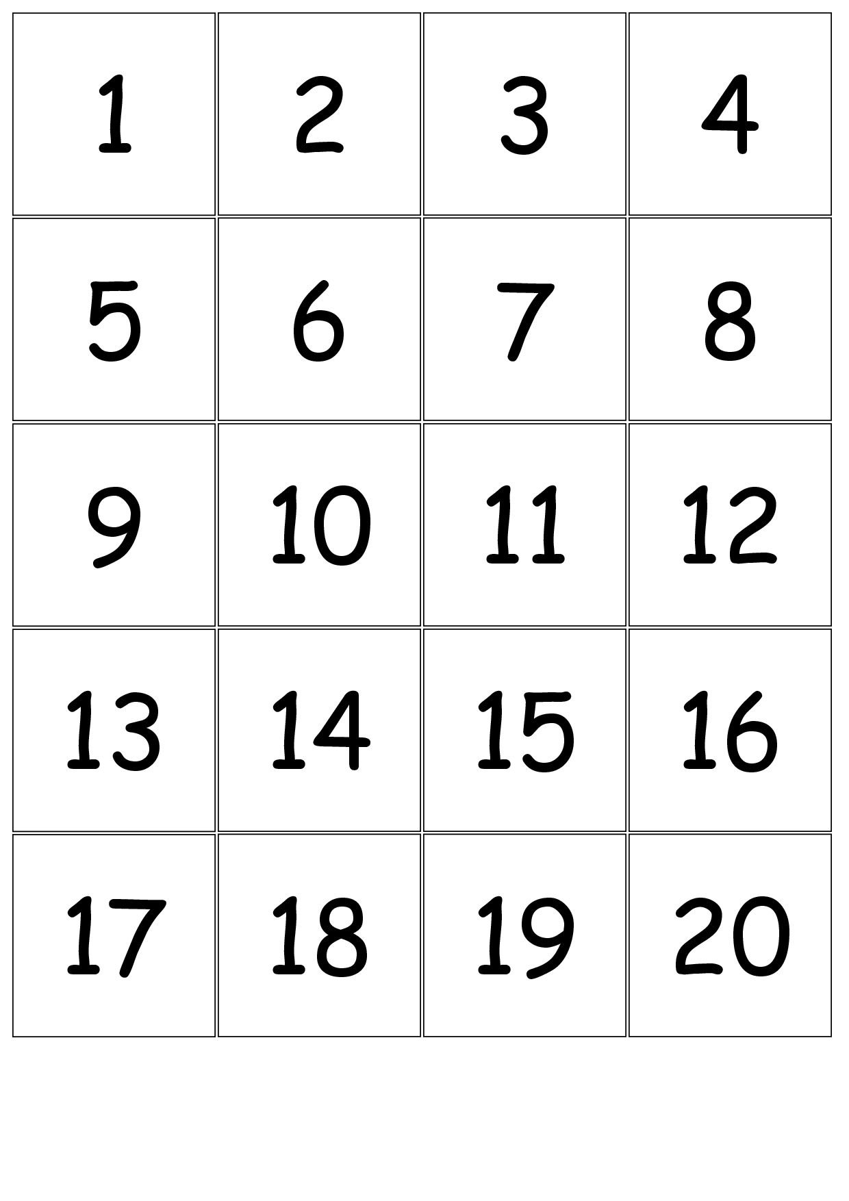 Large Printable Numbers 1 31 - Calendar Inspiration Design Numbers 1 31 Printable