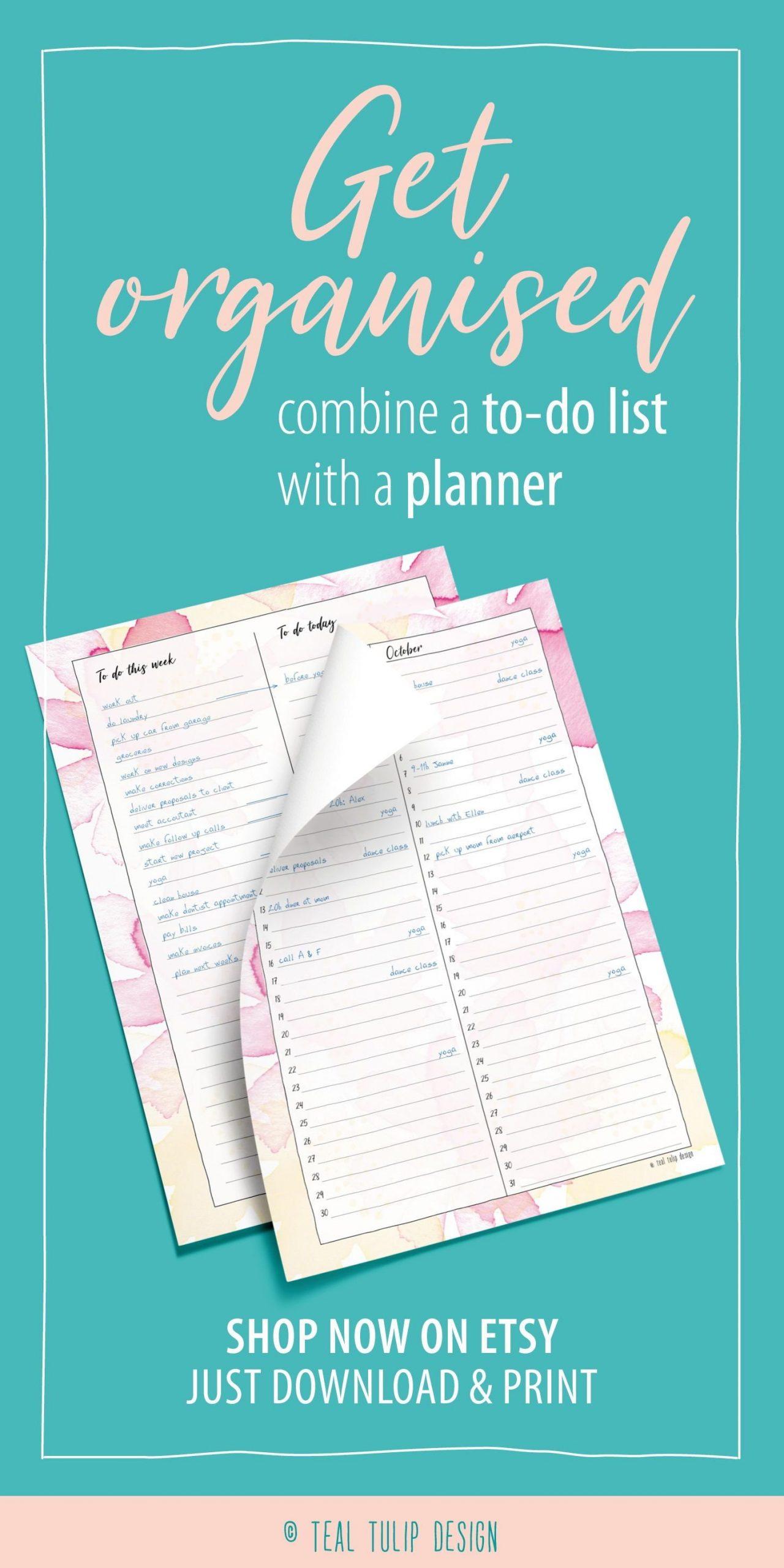 Long-Term Planner Birthday Calendar Printable 12 Month 12 Month Birthday Calendar Template