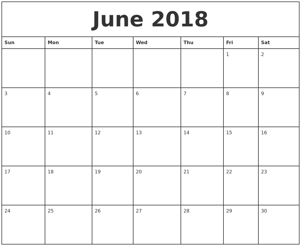 May 2018 – Page 2 – Template Calendar Design Printable Monday Through Friday Monthly Calendar Free