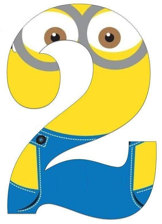 Minion Numbers Free Printables   Funnycrafts   Minion Number Cards Until 31 Printable