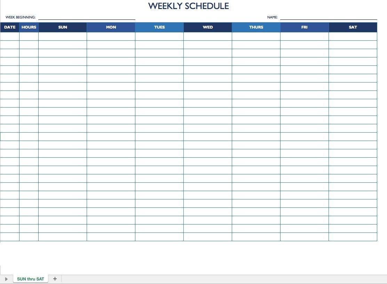 Monday Thru Friday Schedule Template   Example Calendar How To Make A Calendar In Word Monday Through Sunday