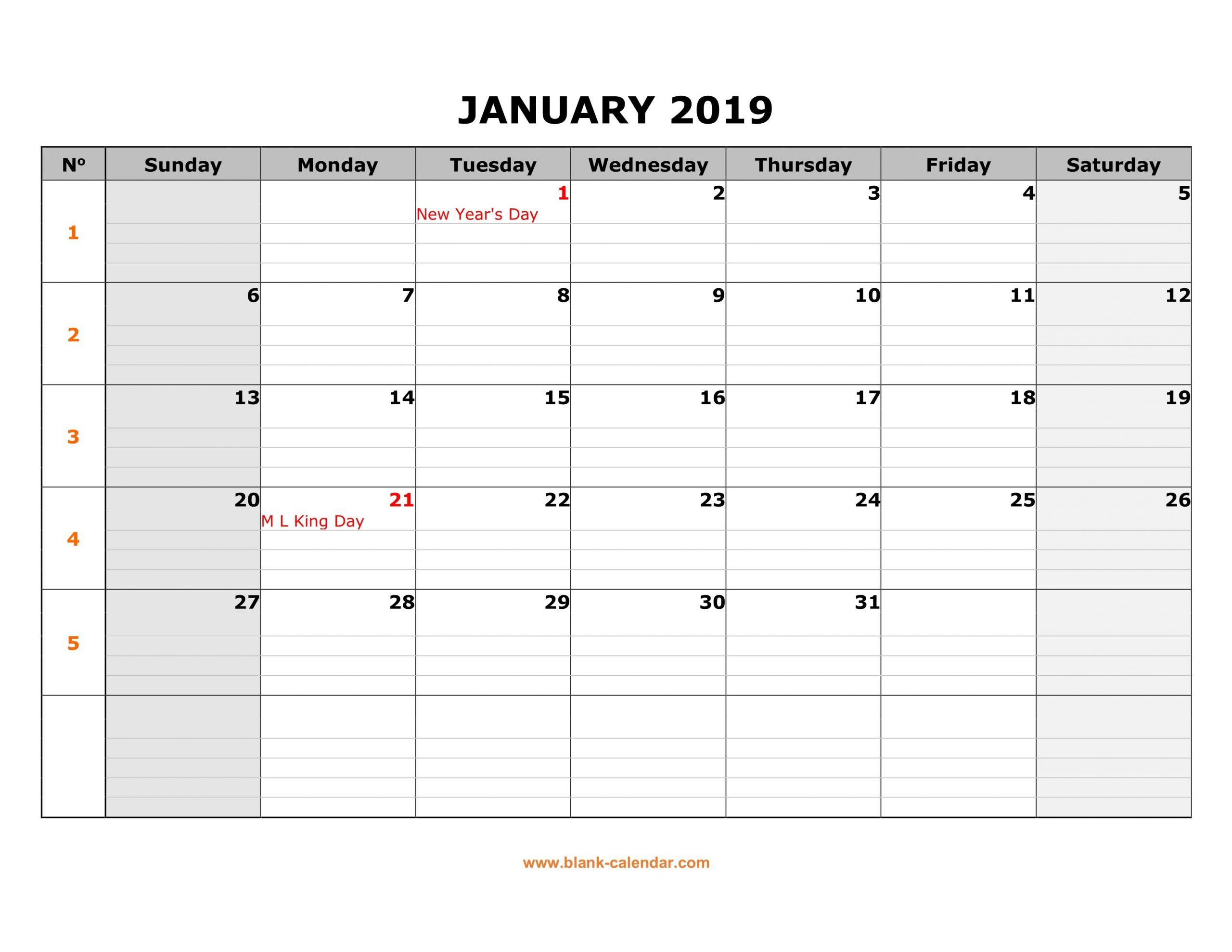 Monday To Friday Printable Monthly Calendar   Example Blank Calendar Grid Moday-Friday