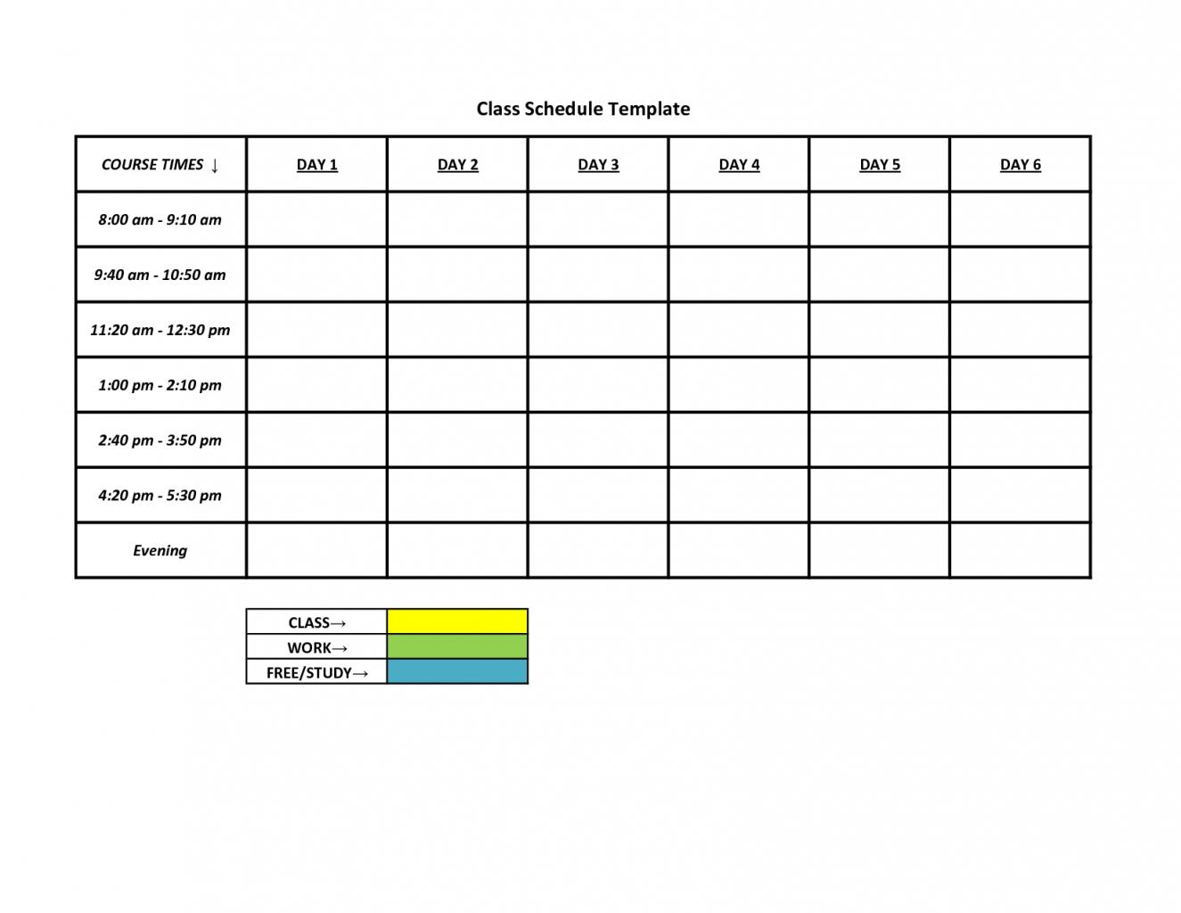 Monday To Sunday Schedule :-Free Calendar Template Mon - Friday Monthly Calendar Template