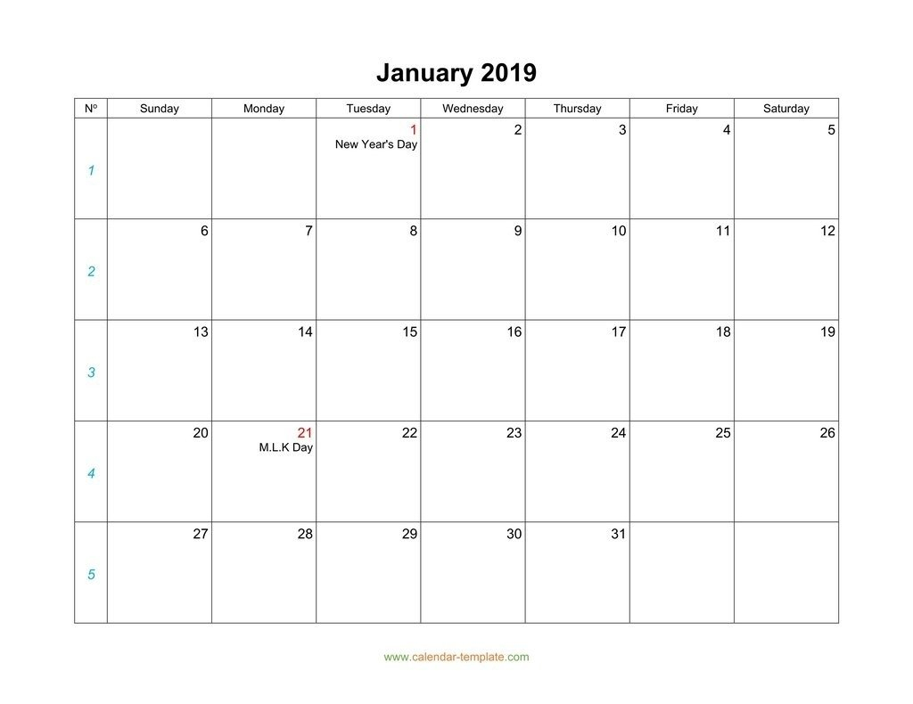 Monthly Monday To Friday Calendar   Calendar Template How To Make A Calendar In Word Monday Through Sunday
