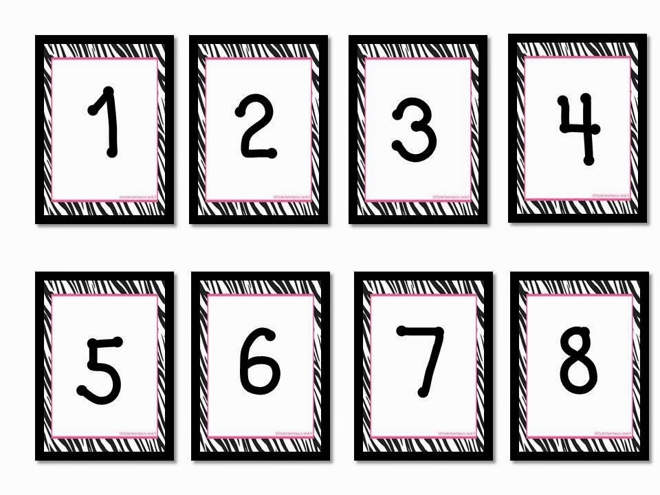 Oodles Of Teaching Fun: Manic Monday Freebie And Made It Numbers For Calendars 1-31 Toddlers