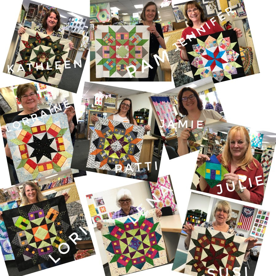 Orange County Quilters Guild Visit • March 2020 Wake County March Vation
