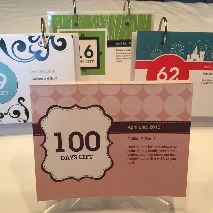 Our Personalized Countdown Calendars Make A Unique Way To Retirement Age Calendar Countdown