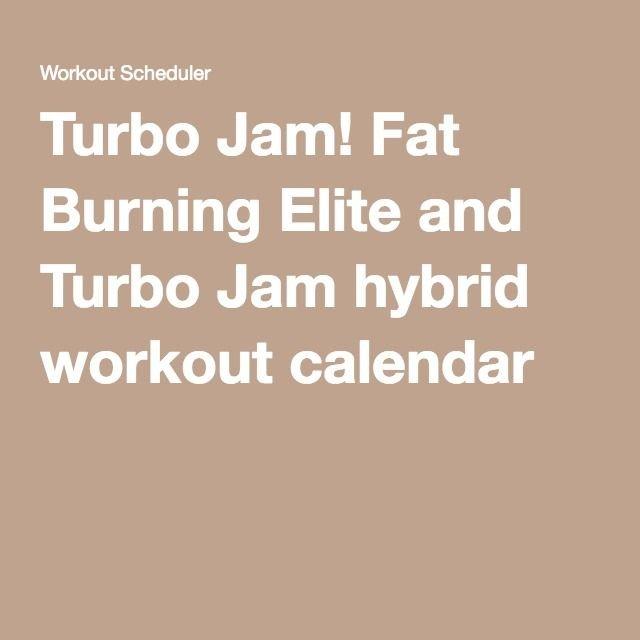 Pin On Beachbody Turbo Jam Calendar Download