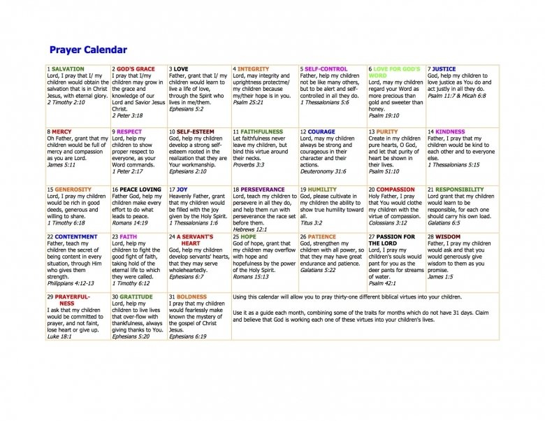 Prayer Calendars With Scriptures :-Free Calendar Template Understated Calendar Template For Publisher