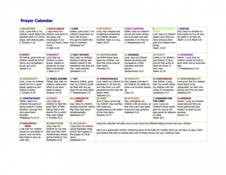 Prayer Calendars With Scriptures :-Free Calendar Template Understated Calendar Template In Publisher