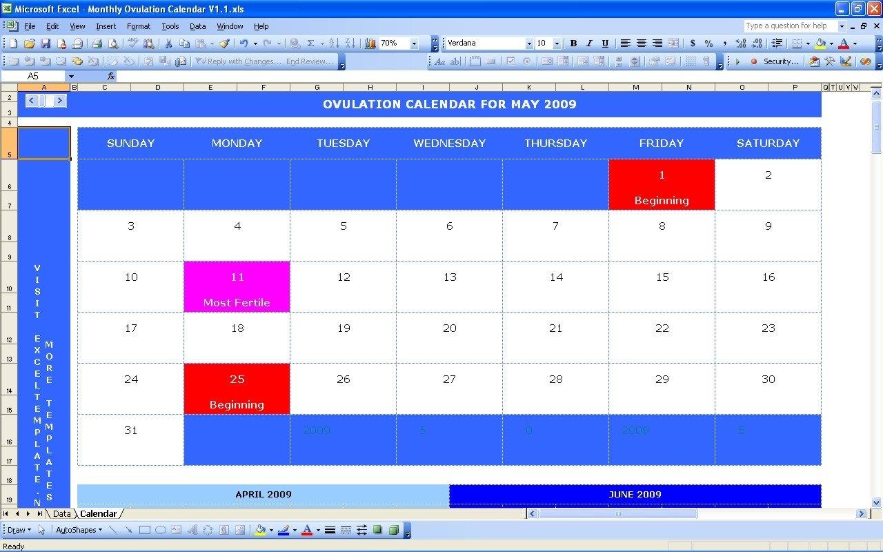 Pregnancy Probability Calculator Calendar   Qualads Menstrual Chart Printable Free