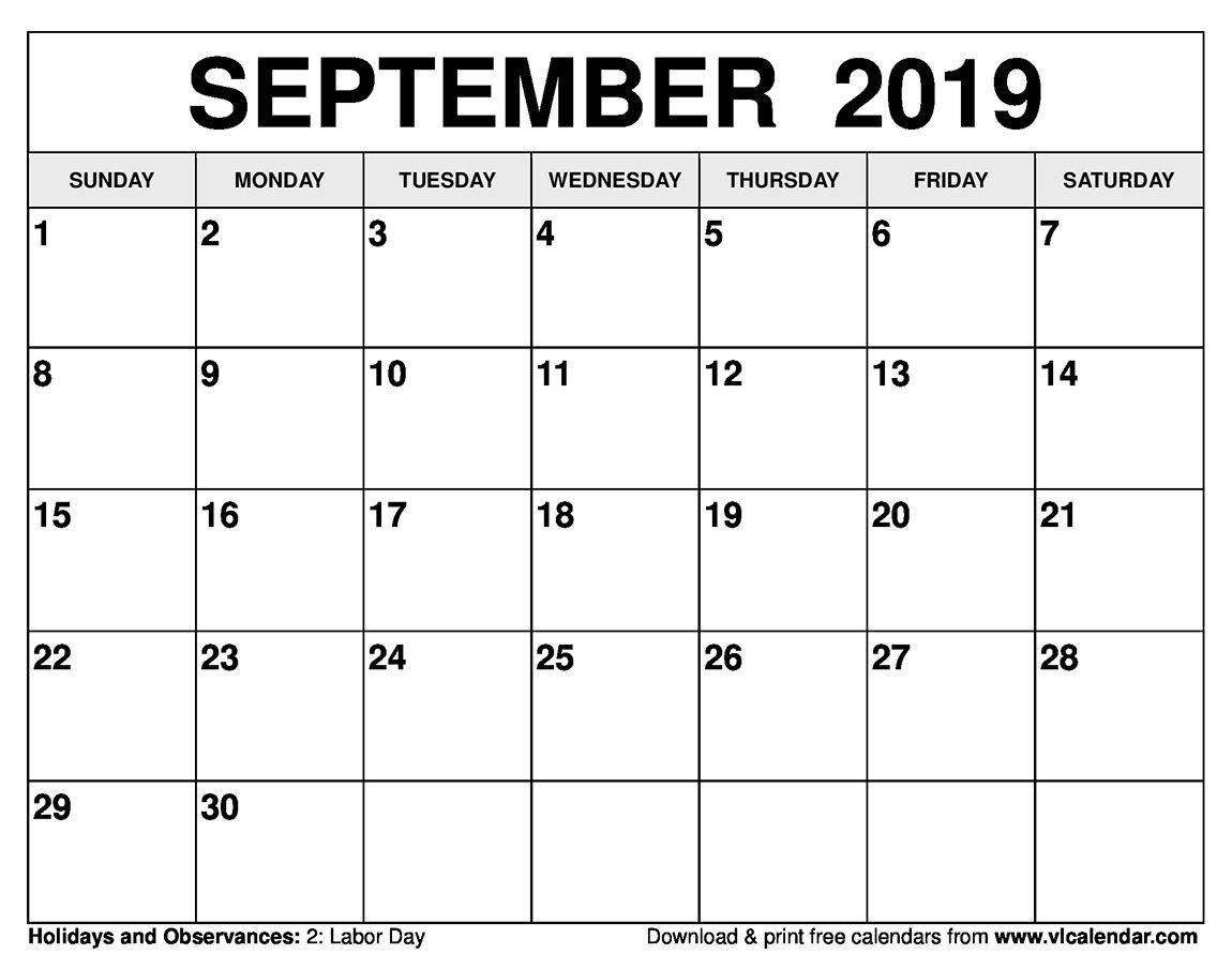 Printable Calendar Next 30 Days In 2020 | Printable 30 Day Blank Calendar