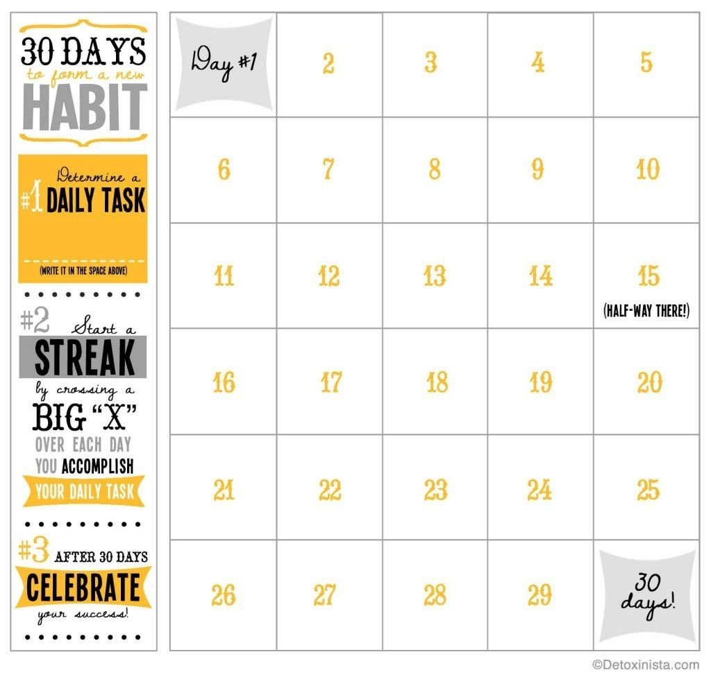 Printable Calendar Next 30 Days | Ten Free Printable 30 Day Blank Calendar