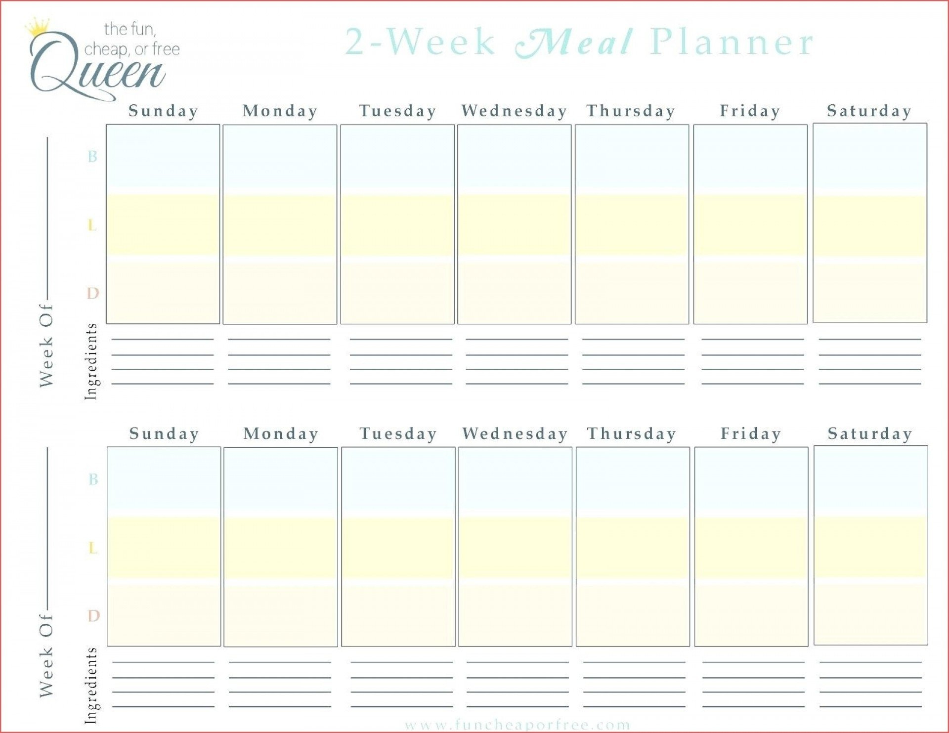 Printable Calendar Two Weeks | Month Calendar Printable Printable 2 Week Calendar Template