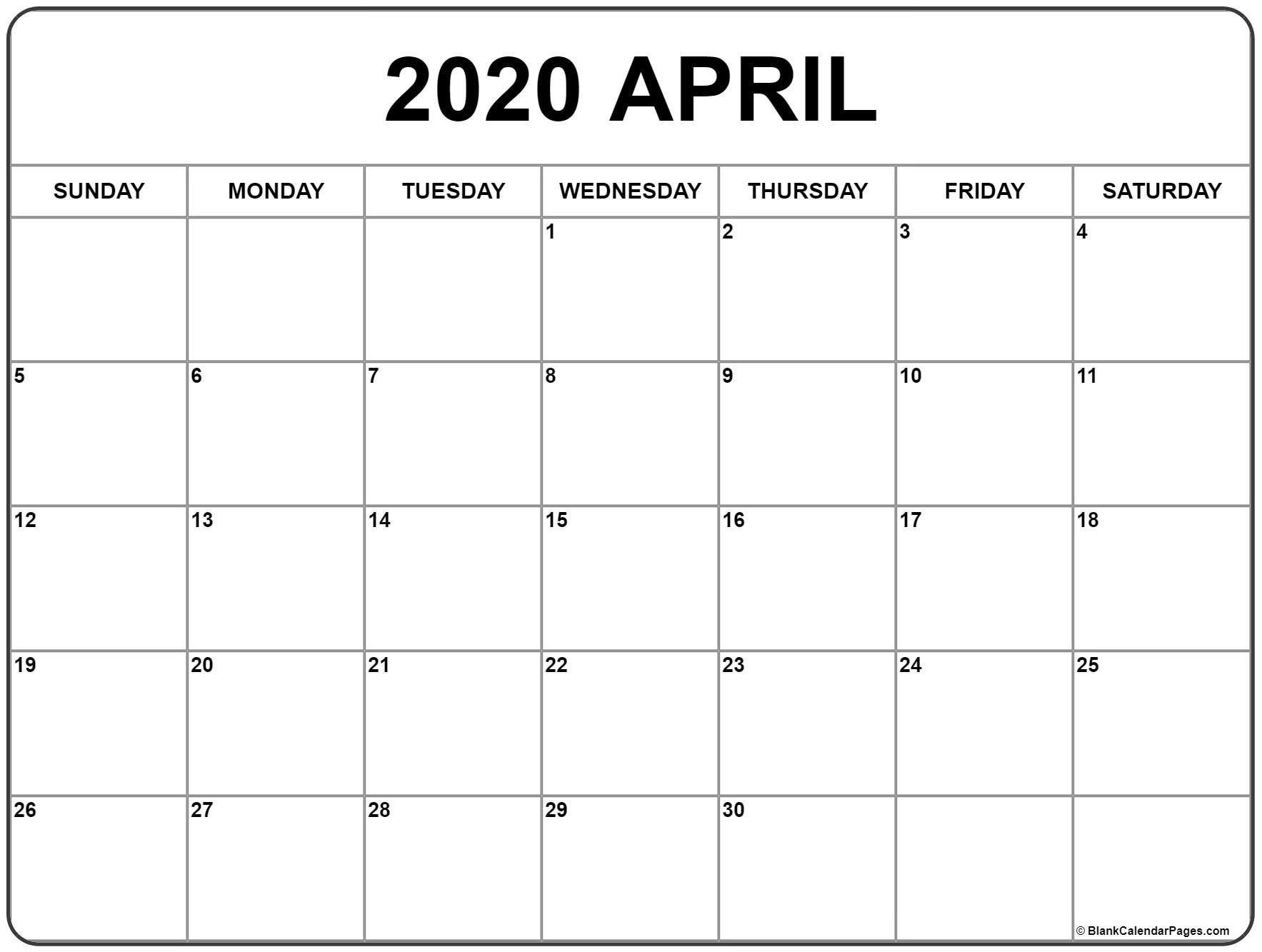 Printable Monthly 5 Day Calendar 2020   Calendar Template 5 Day Calendar Free Template