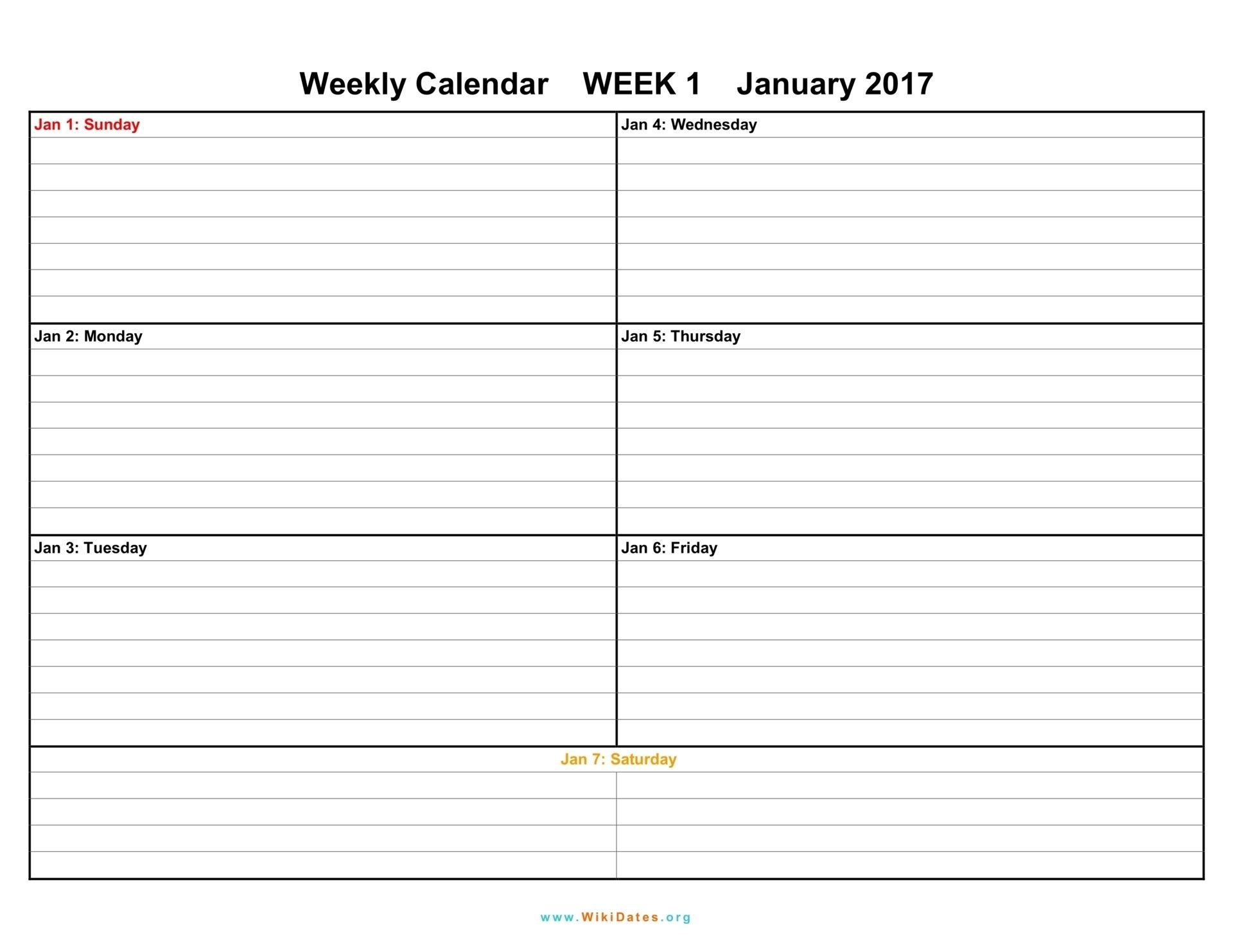 Printable Weekly Calendar 2018 Printable Weekly Calendar Monthly March Schedule With Time Slots