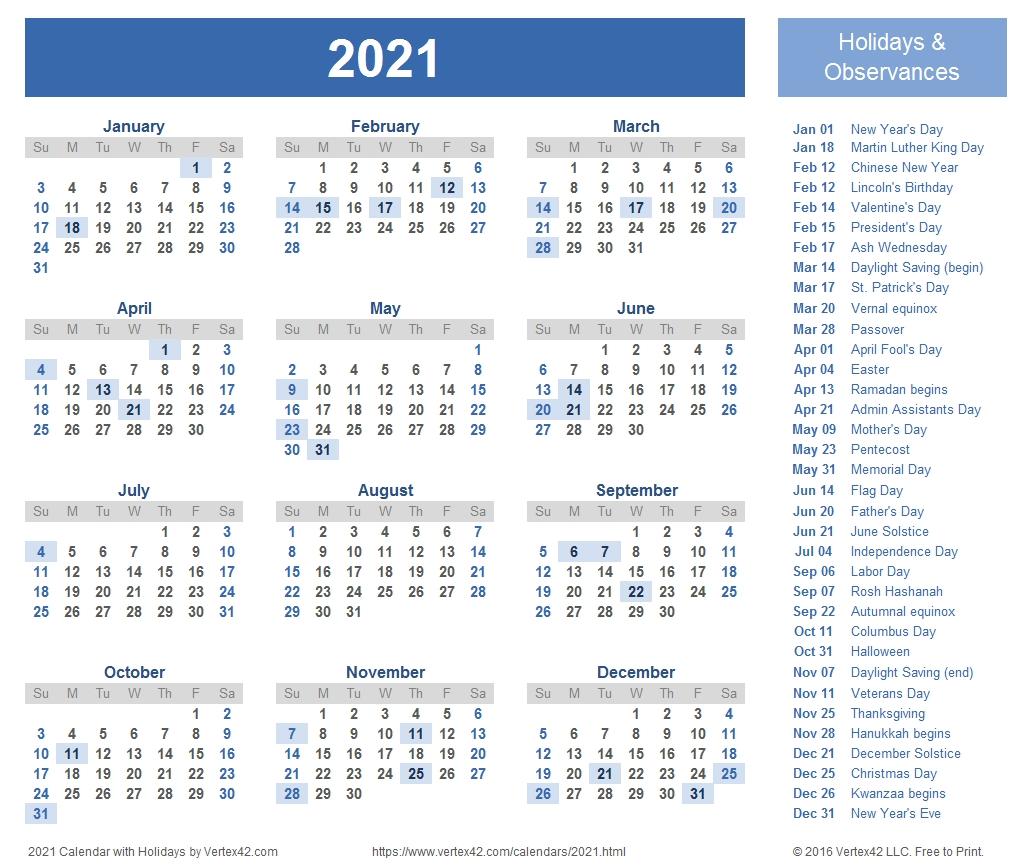 Printable Weekly Calendar 2021 Free | Avnitasoni Free Weekly Numbered 52 Week Calendar Printable