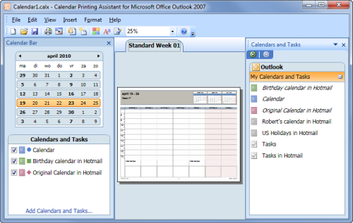 Printing Combined Calendars - Msoutlook Can You Merge Cozi Calendar And Outlook Calendar