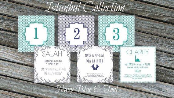 Ramadan Calendar. 30 Days Of Good Deeds Countdown To Eid Ramadan Countdown Free Printable