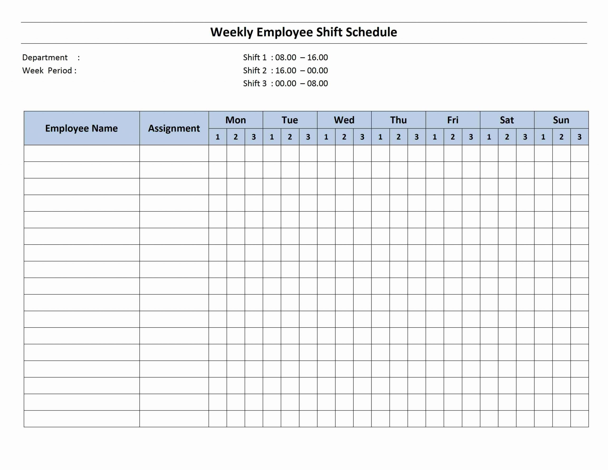 Schedule Archives | Page 2 Of 2 | Freewordtemplates Two Week Schedule Pdf