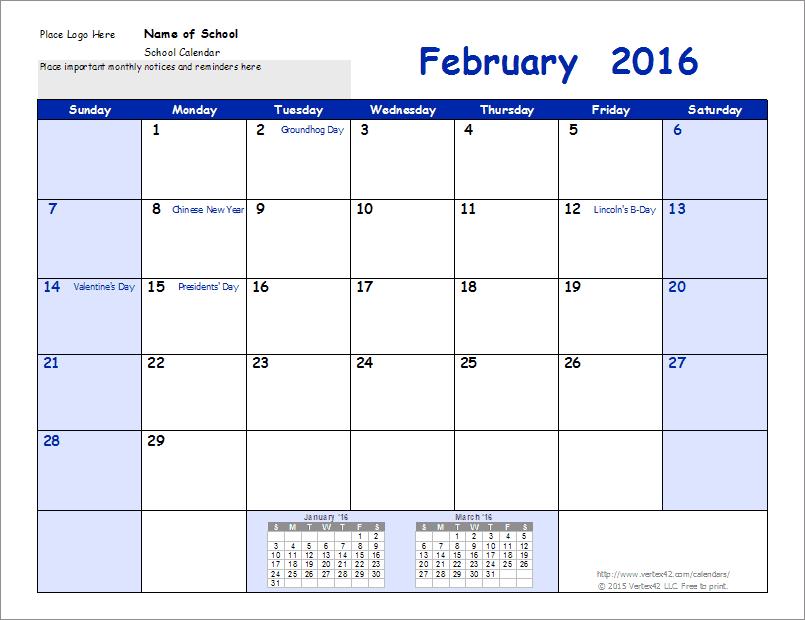 School Calendar Template - 2020-2021 School Year Calendar Blank School Calendar With Times Free