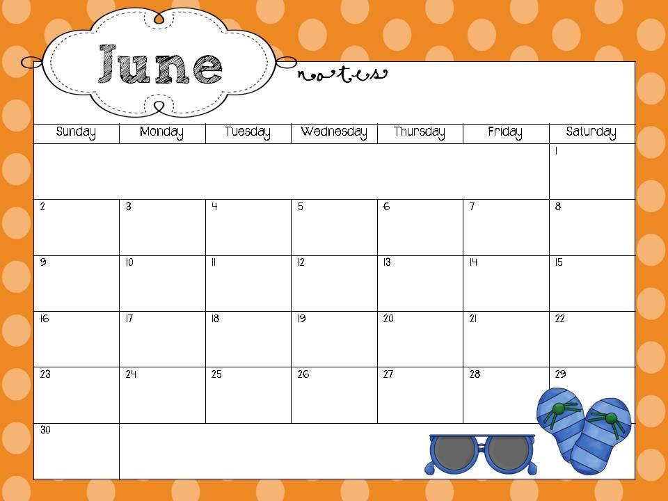 School Year Calendar Freebie :) Blank School Calendar With Times Free