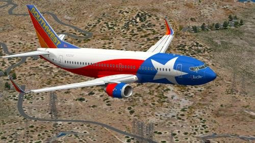 Southwest Airlines 'Lone Star One' 737 3H4 N352Sw – Ixeg Southwest Airlines Monthly Calendar