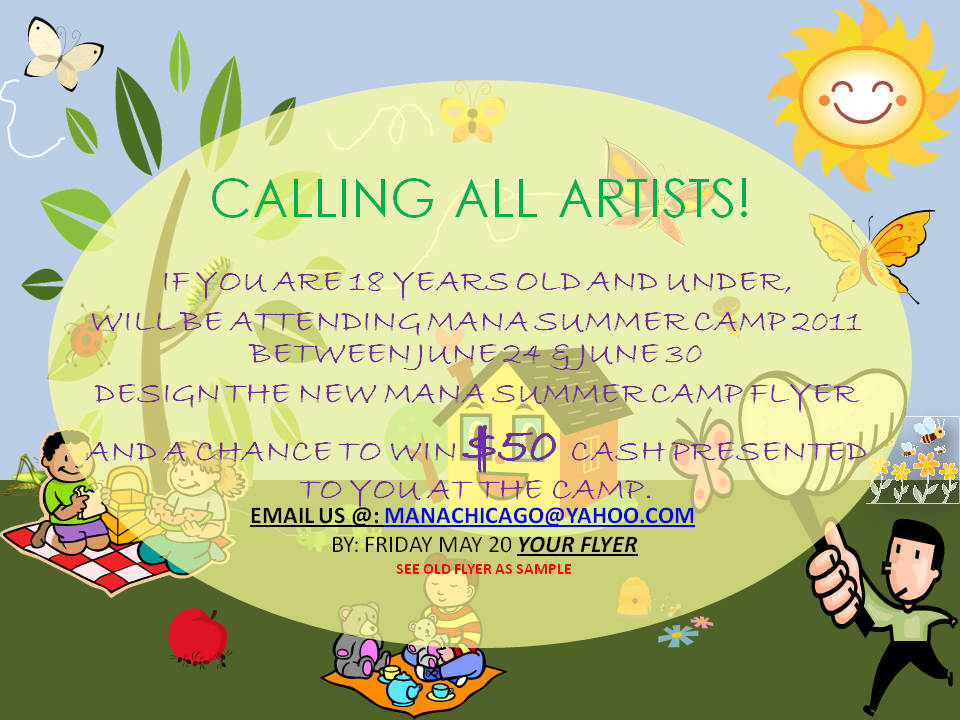 Summer Camp Flyer Contest | $50 Cashe Prize For Winner Tempalate For Baby Sweepstake