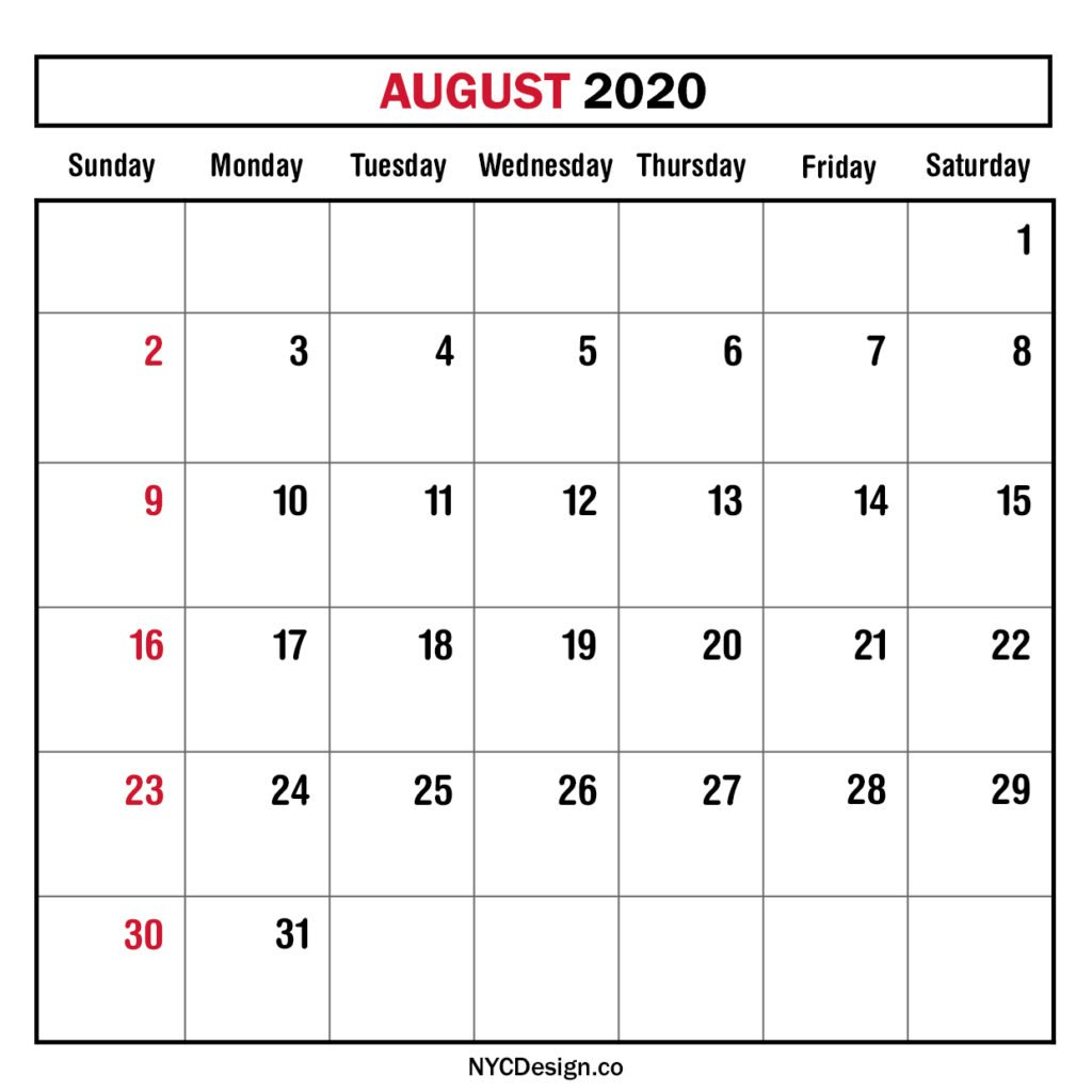 Take Print Free Monthly Calendars Without Downloading 2020 Free Printable Monthly Calendar Without Download