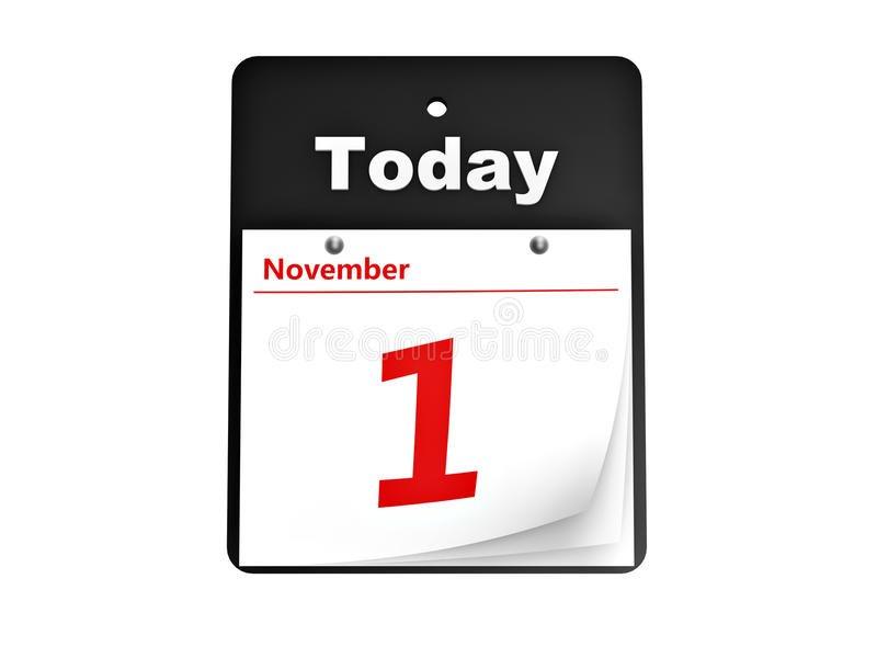 Tear-Off Day Calendar Stock Photo - Image: 20333330 Free Printable Tear Off Calendar