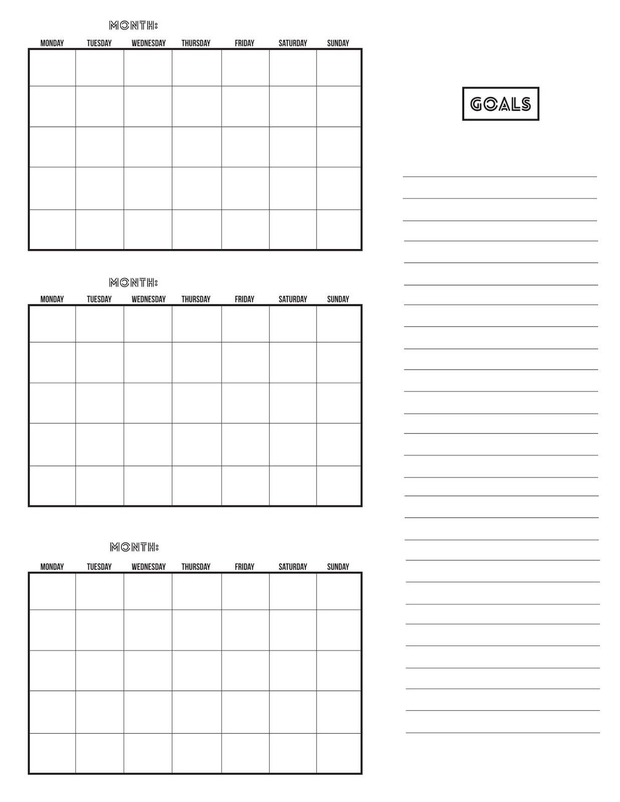 The Obsessive Imagist | Art, Design, Life: Getting 3 Month Free Calendar