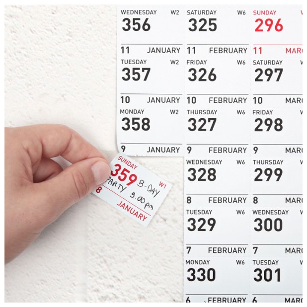 Things: 2012 Durch 365 365 Day Calendar Counter