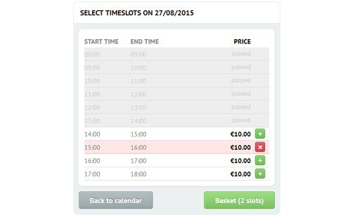 Time Slots Booking Calendar | Online Booking System Free Reservation Calendar For Website