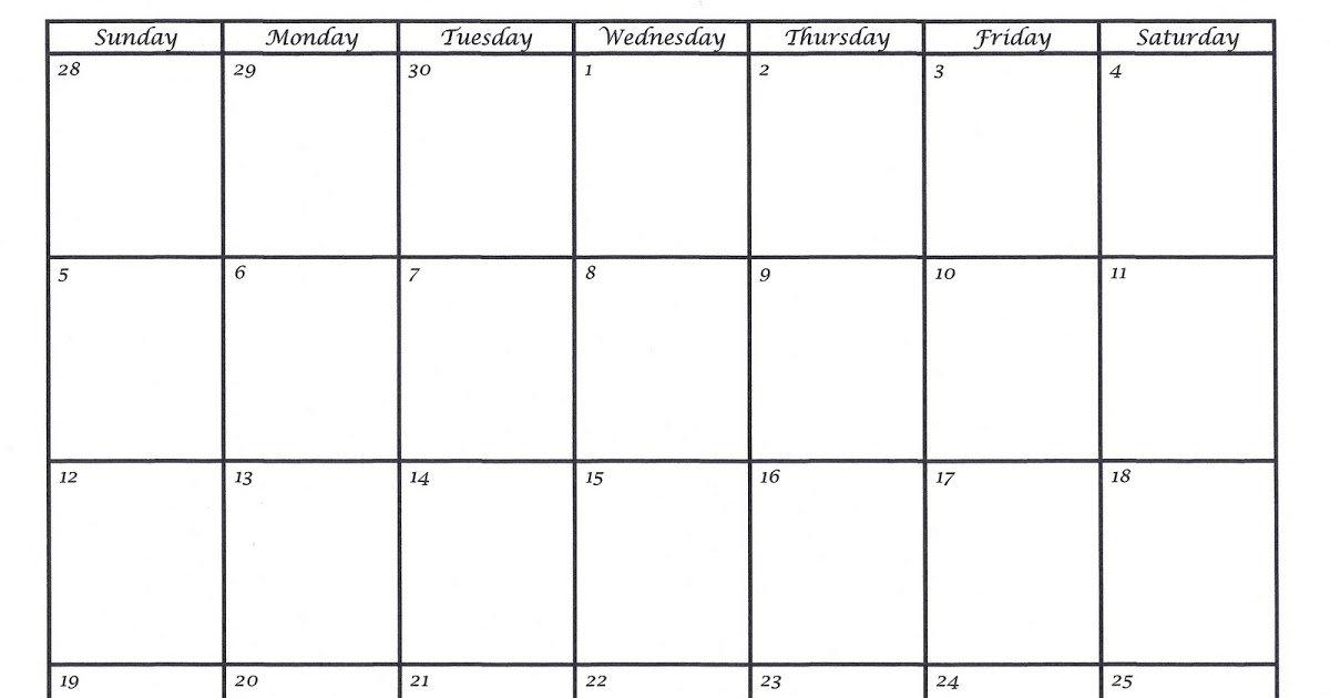 Two Week Calendar Template | Shatterlion Free Two Week Planning Calendaar
