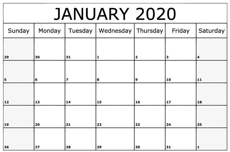 Universal Printable Calendars That You Can Edit In 2020 Monthly Calender I Can Edit On
