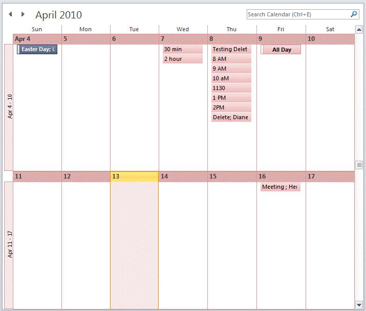 View A Two Week Calendar Blank Template For Two Week Calendar